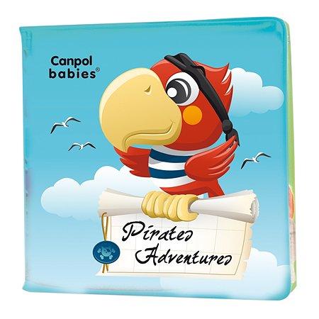 Книжка Canpol Babies мягкая с пищалкой Пираты