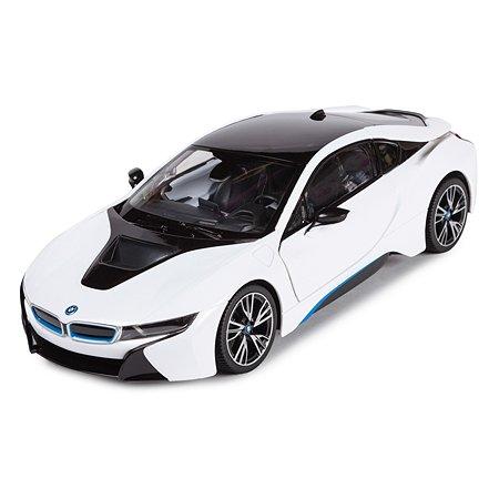 Машинка радиоуправляемая Rastar BMW i8 1:14 белая