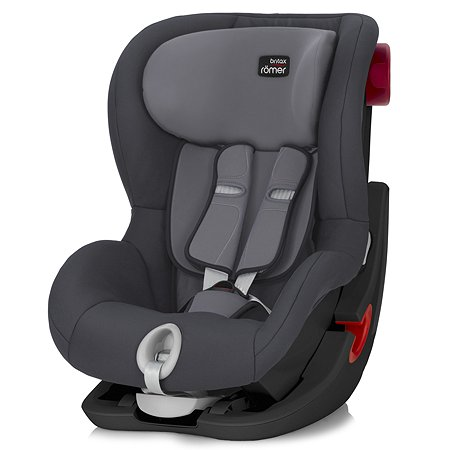 Автокресло Britax Roemer King II Black Series Storm Grey