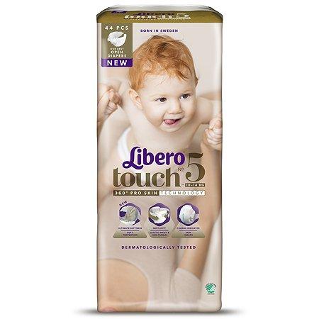 Подгузники Libero Touch 5 10-14кг 44шт