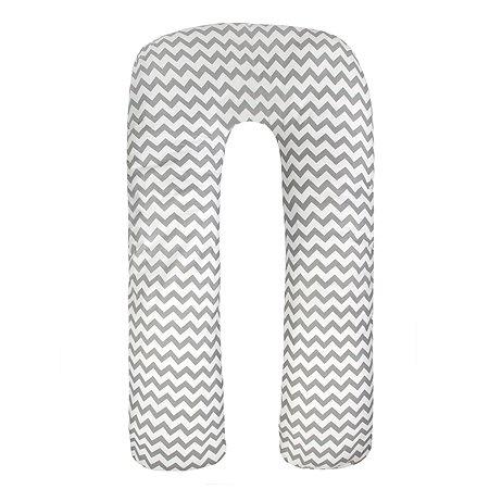 Подушка для беременных AMARO BABY Уголки U-образная Серый