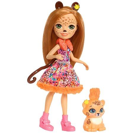 Кукла Enchantimals со зверюшкой FJJ20