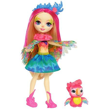Кукла Enchantimals со зверюшкой FJJ21