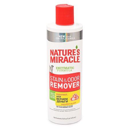Уничтожитель пятен и запахов от собак Natures Miracle универсальный 473 мл