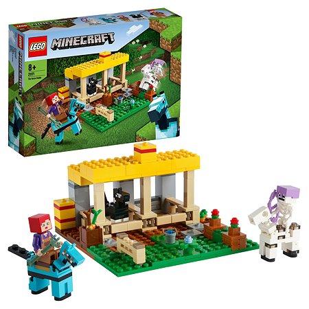 Конструктор LEGO Minecraft Конюшня 21171