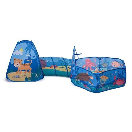 Набор Baby Go Палатка с тоннелем и сухим бассейном YS182751