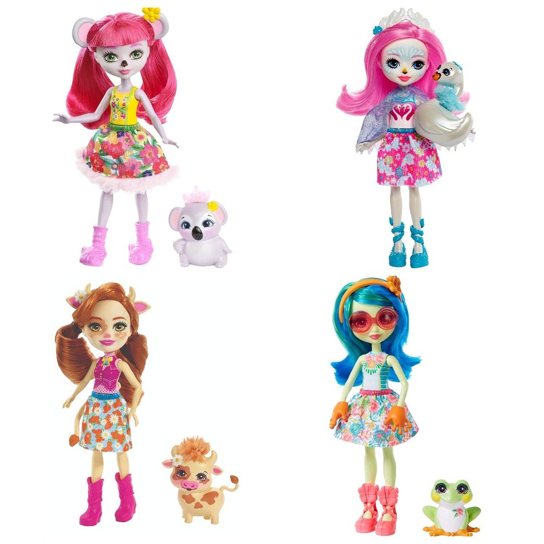 Кукла Enchantimals со зверюшкой в ассортименте FJJ22  Z1