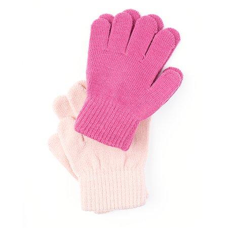 Перчатки 2 пары PlayToday розовые
