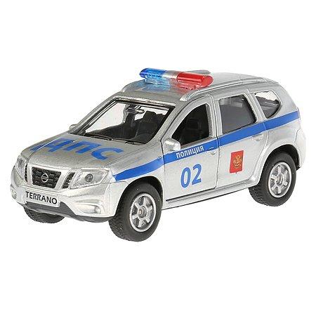 Машина Технопарк Nissan Terrano Полиция инерционная 250744