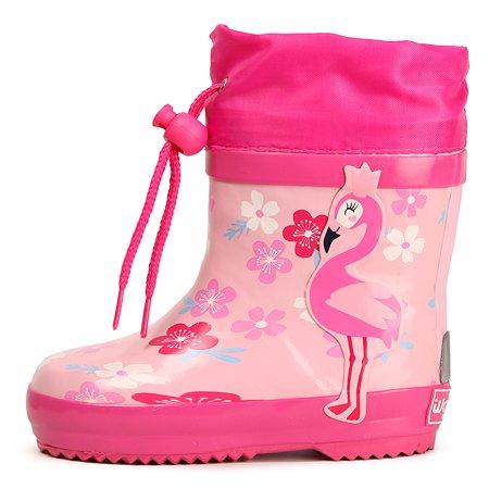 Резиновые сапоги Wappo розовые
