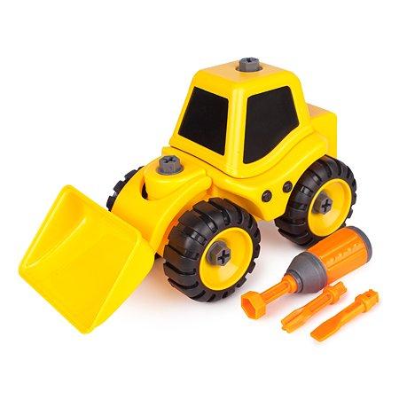 Экскаватор-конструктор Mobicaro с отверткой