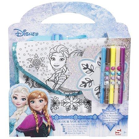 Набор для творчества Sambro Frozen Раскрась свою сумку DFR8-4159