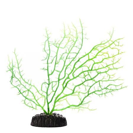 Декорация для аквариума FAUNA Коралл Зеленый FIAD-1328