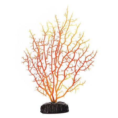 Декорация для аквариума FAUNA Коралл Красный-Желтый FIAD-1324
