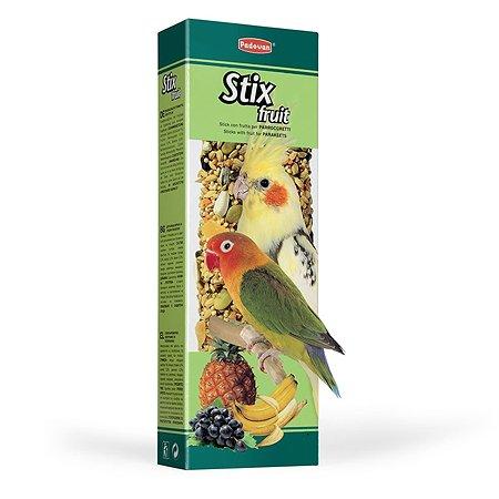 Лакомство для попугаев PADOVAN Stix Палочки фруктовые 0.1кг