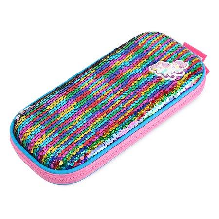 Пенал Maxleo Единорог Разноцветный MLW190132