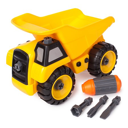 Строительный грузовик-конструктор Mobicaro с отверткой
