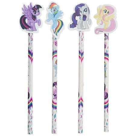 Карандаш чернографитный Kinderline My Little Pony с ластиком в ассортименте MPFS-UA1-1320