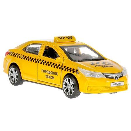 Машина Технопарк Toyota Corolla Такси инерционная 268484