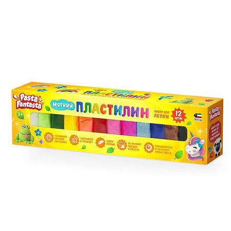 Пластилин Attivio Легкий 12цветов DMP012