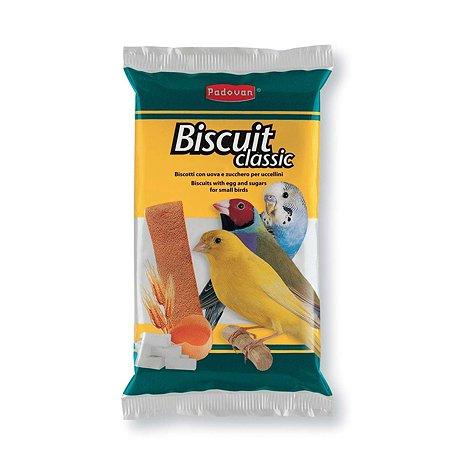 Лакомство для птиц PADOVAN декоротивных сладкие яичные бисквиты 0.03кг