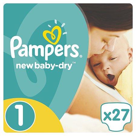Подгузники Pampers New Baby-Dry Newborn 2-5кг 27шт