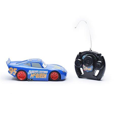 Автомобиль радиоуправляемый Cars Disney Маккуин 13см Синий