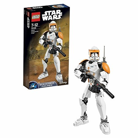 Конструктор LEGO Constraction Star Wars Clone Commander Cody™ (75108)