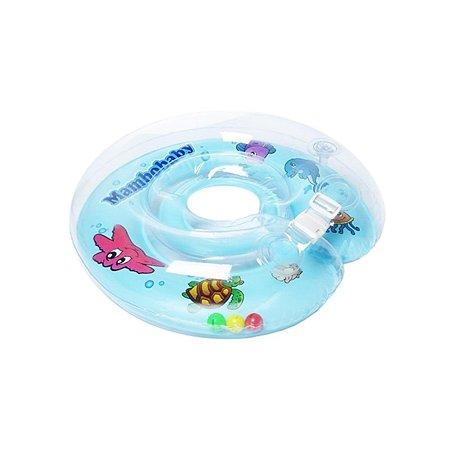 Круг для купания Mambobaby синий 6-36 мес