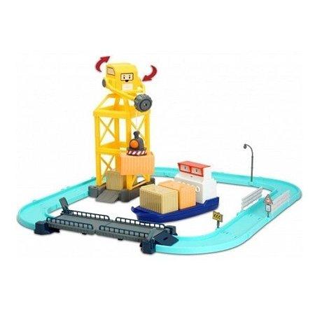 Порт с разводным мостом POLI машинка Терри в комплекте