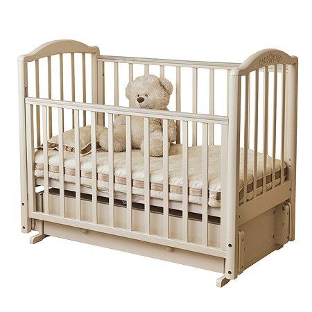Кровать детская Красная Звезда (Можга) Руслан Слоновая кость