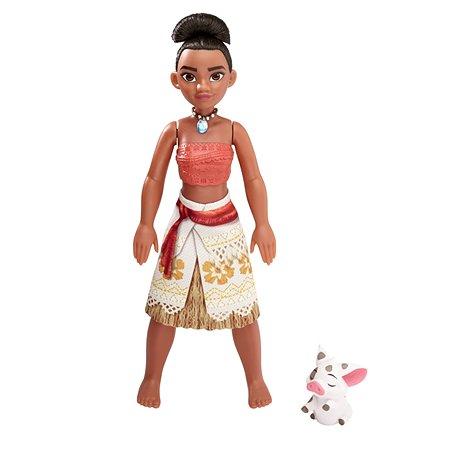 Кукла Princess Моана в движении