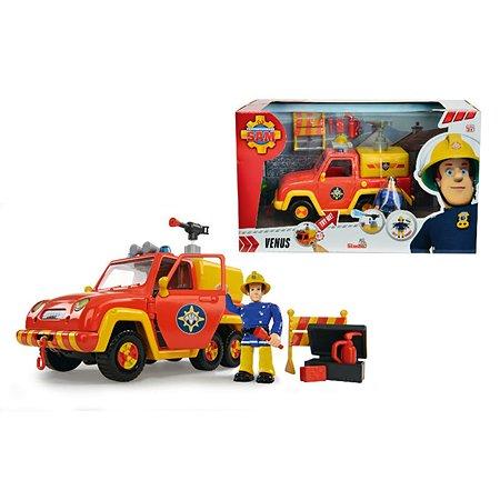 Машина Fireman Sam со звуком и функцией воды+фигурка