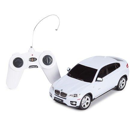 Машинка р/у Rastar BMW X6 1:24 белая