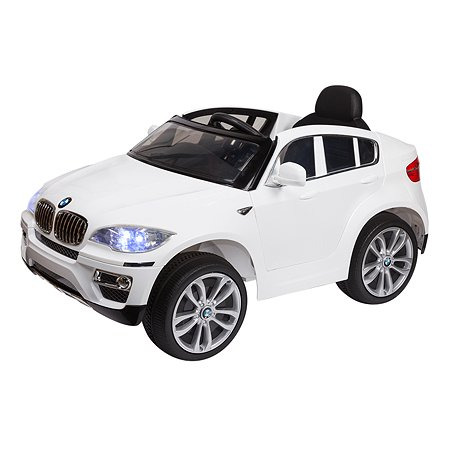 Электромобиль Kreiss (звук) BMW X6 2X6V белый