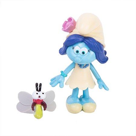Фигурка Smurfs Смурфик с питомцем 5 см в непрозрачной упаковке (Сюрприз)