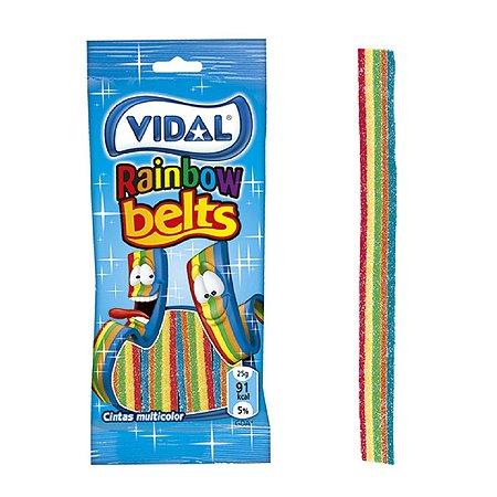 Мармелад Vidal жевательный лента радуга 70г