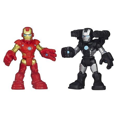 Набор из 2 фигурок Playskool IRON MAN & WAR MACHINE