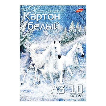 Картон белый Академия Холдинг 10 л