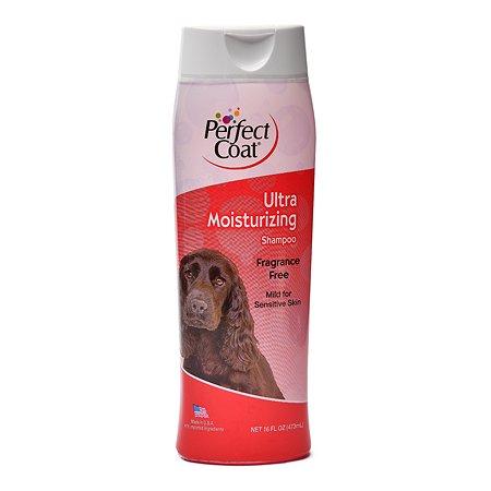 Шампунь для собак 8in1 Perfect Coat Ultra Moisturizing увлажняющий без запаха 473мл