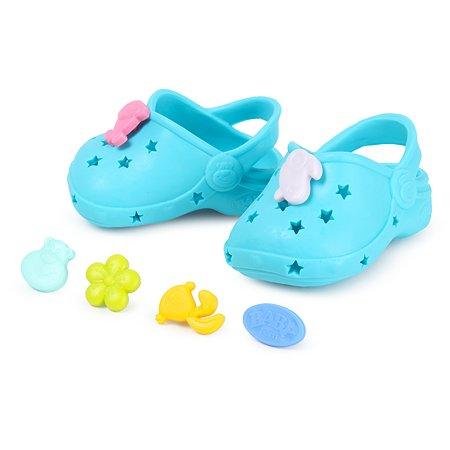 Обувь для куклы Zapf Creation Baby born Сандали фантазийные Зеленые 824-597