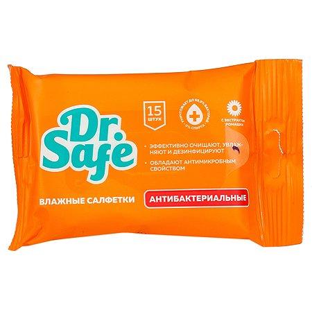 Салфетки влажные DR.SAFE Ромашка 15шт 12087