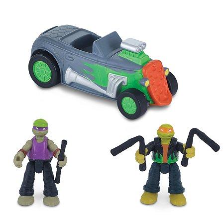 Игрушка Ninja Turtles(Черепашки Ниндзя) Скоростной кабриолет с Майки и Донни 87612