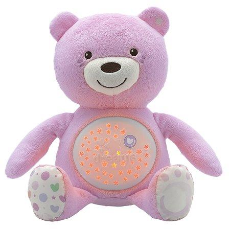 Игрушка Chicco Мишка музыкальный Розовый