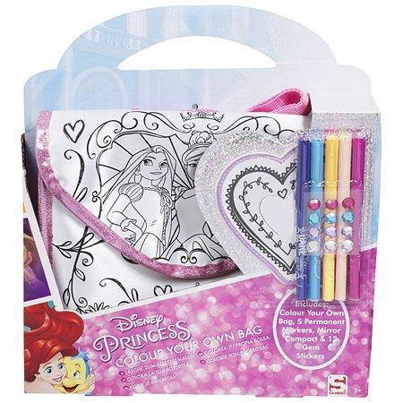 Набор для творчества Sambro Princess Раскрась свою сумку DSP8-4159