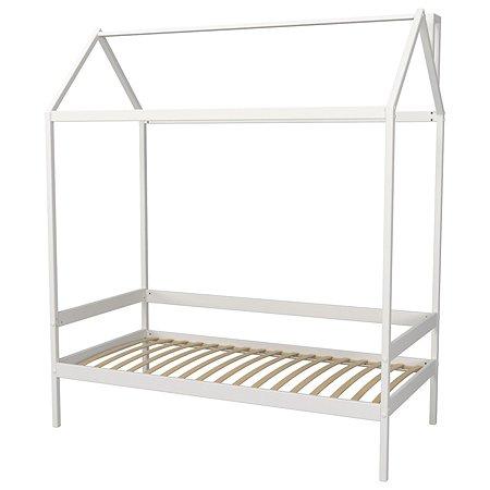 Кровать-домик Красная Звезда (Можга) Белый