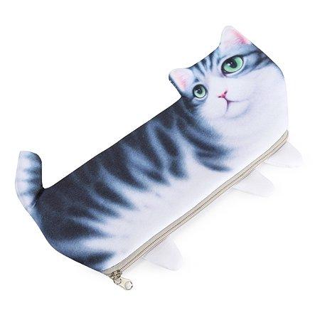 Пенал Johnshen Кошка PS75016-f