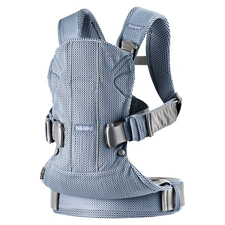 Рюкзак-переноска BabyBjorn One Air Серо-голубой