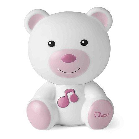 Ночник Chicco Медвежонок Розовый 00009830100000