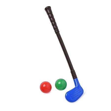 Набор для гольфа Строим вместе счастливое детство клюшка и 2 шара